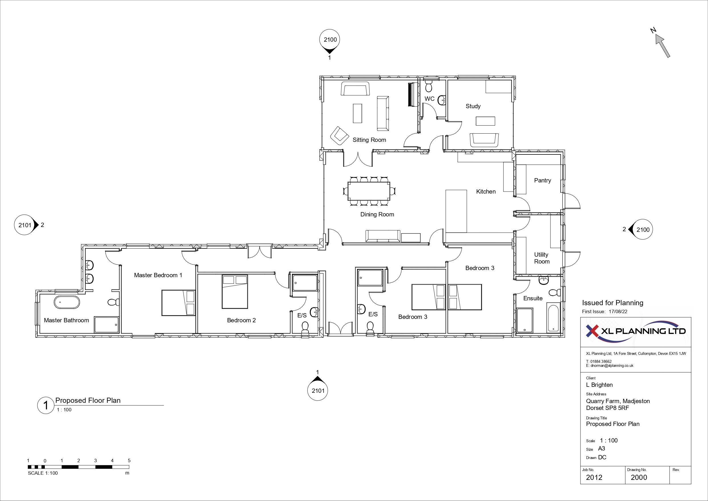 Floorplan - Eccliffe, Gillingham, Dorset, SP8 5RE