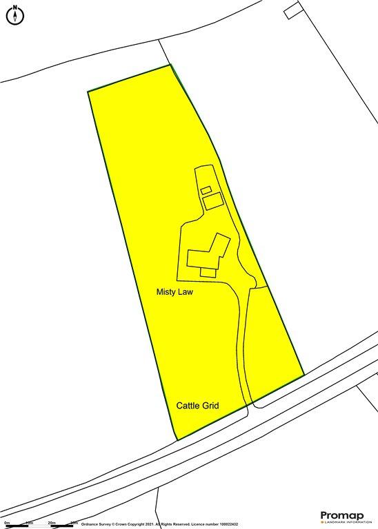 Siteplan - Shillingstone Lane, Okeford Fitzpaine, Blandford Forum, Dorset, DT11 0RB