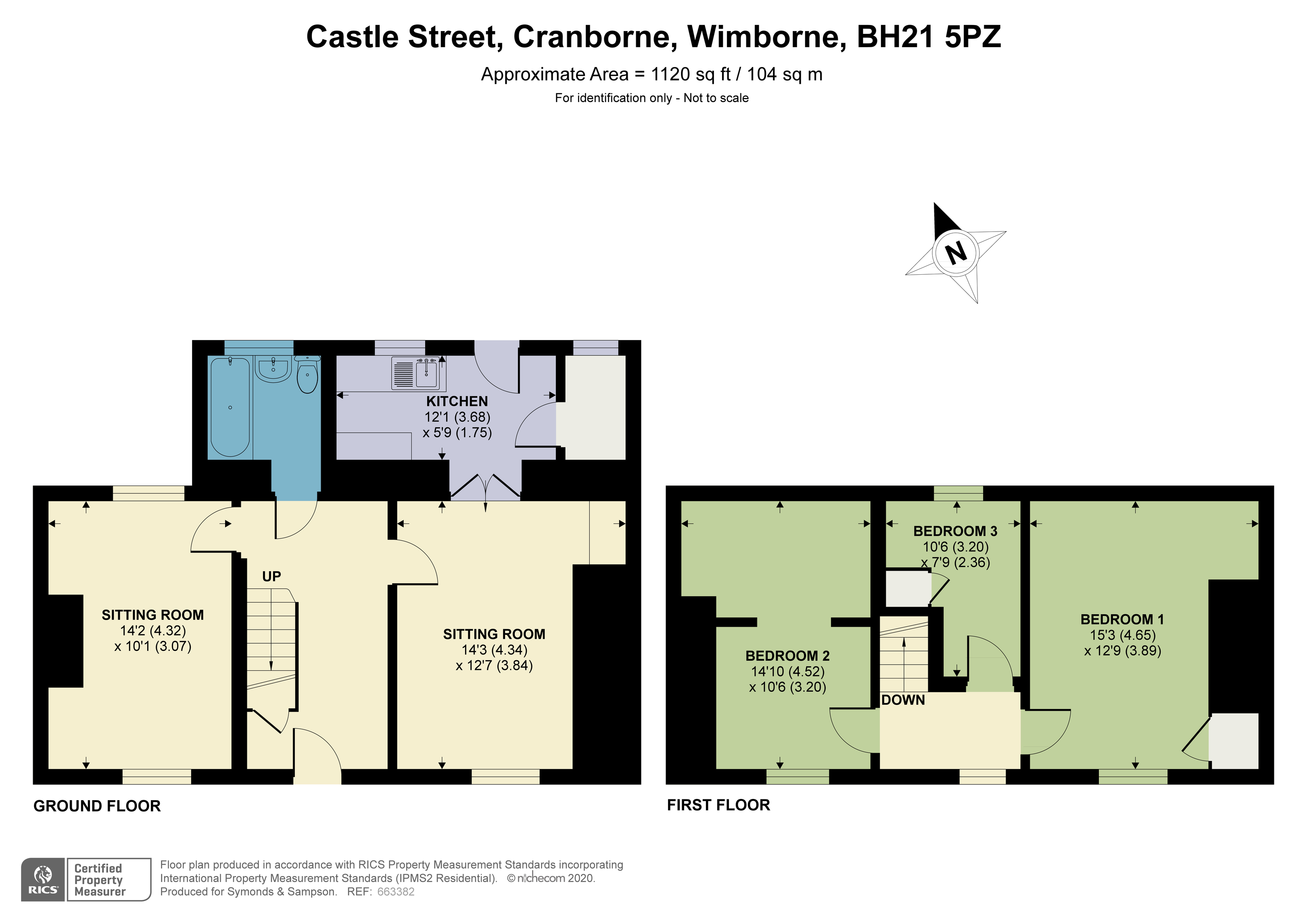 Floorplan - Castle Street, Cranborne, Wimborne, BH21 5PZ