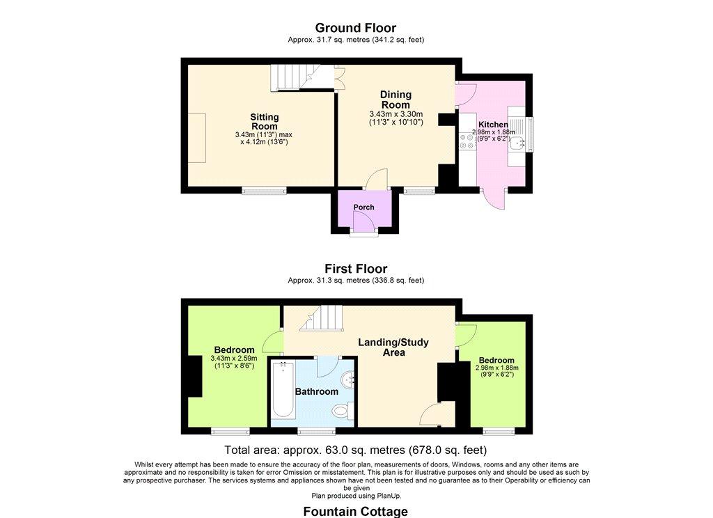 Floorplan - Zeals, Warminster, BA12 6NE