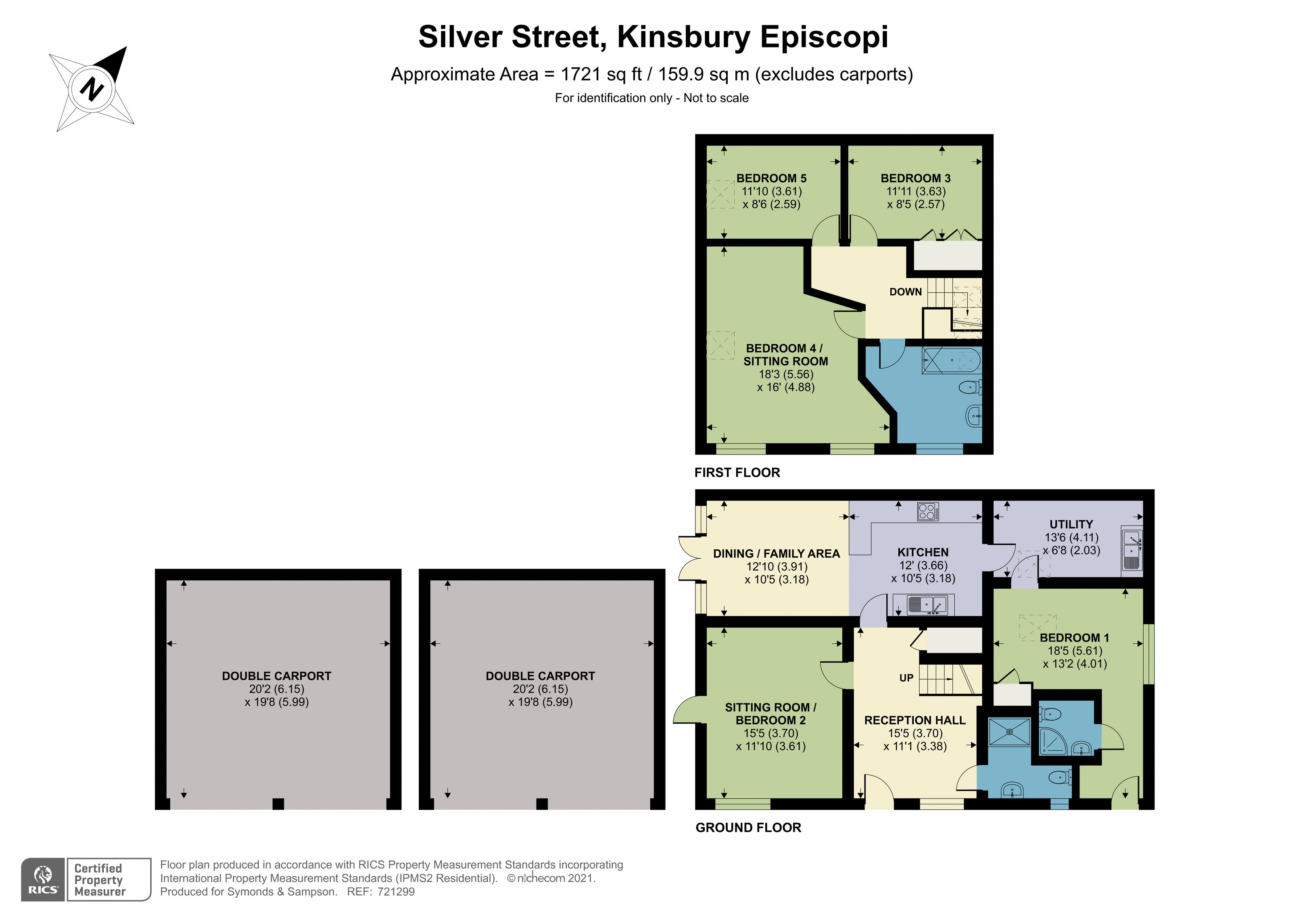 Floorplan - Silver Street, Kingsbury Episcopi, Martock, TA12 6AX