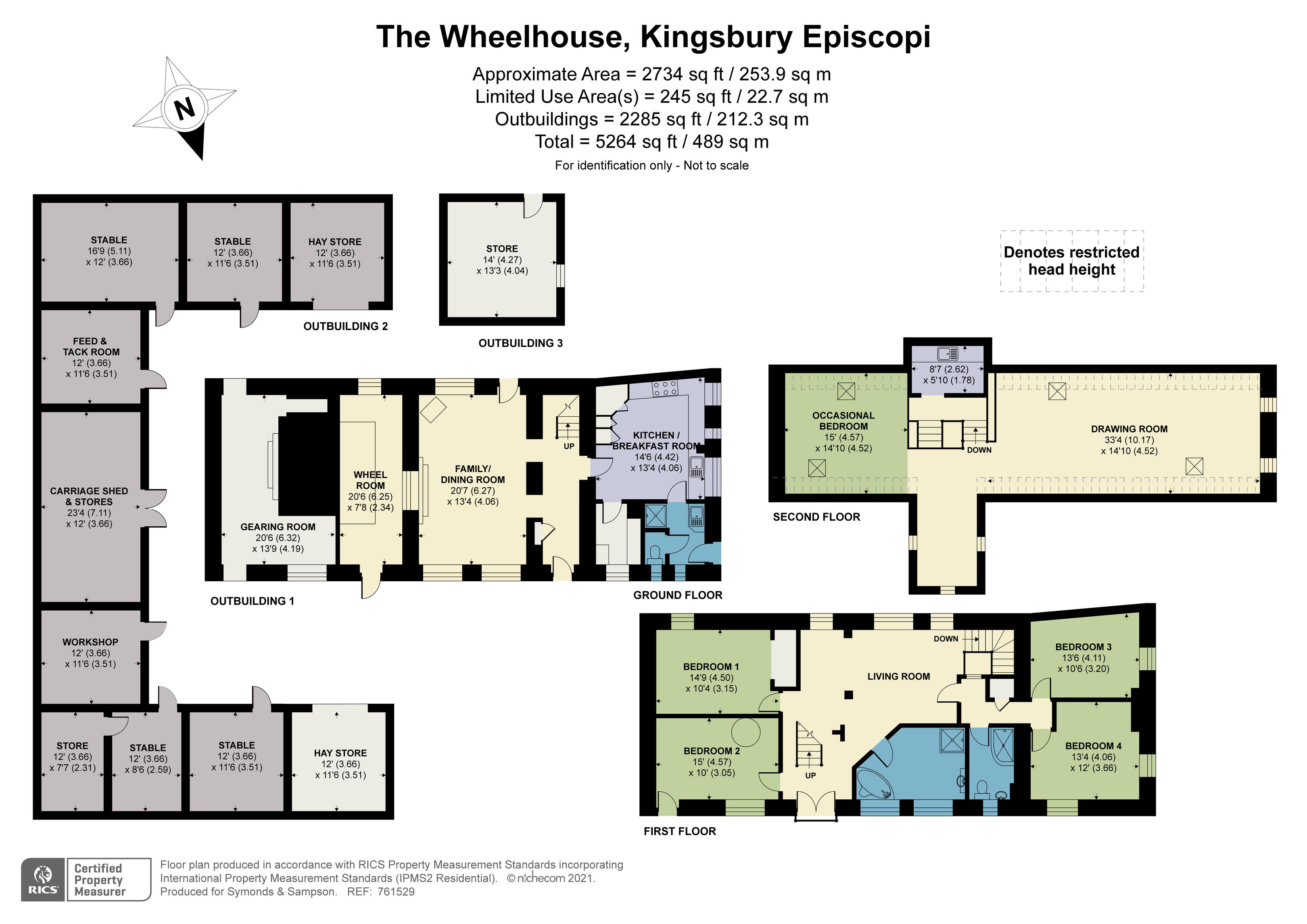 Floorplan - Gawbridge Mill, Hawthorn Hill, Kingsbury Episcopi, Martock, Somerset, TA12 6BY
