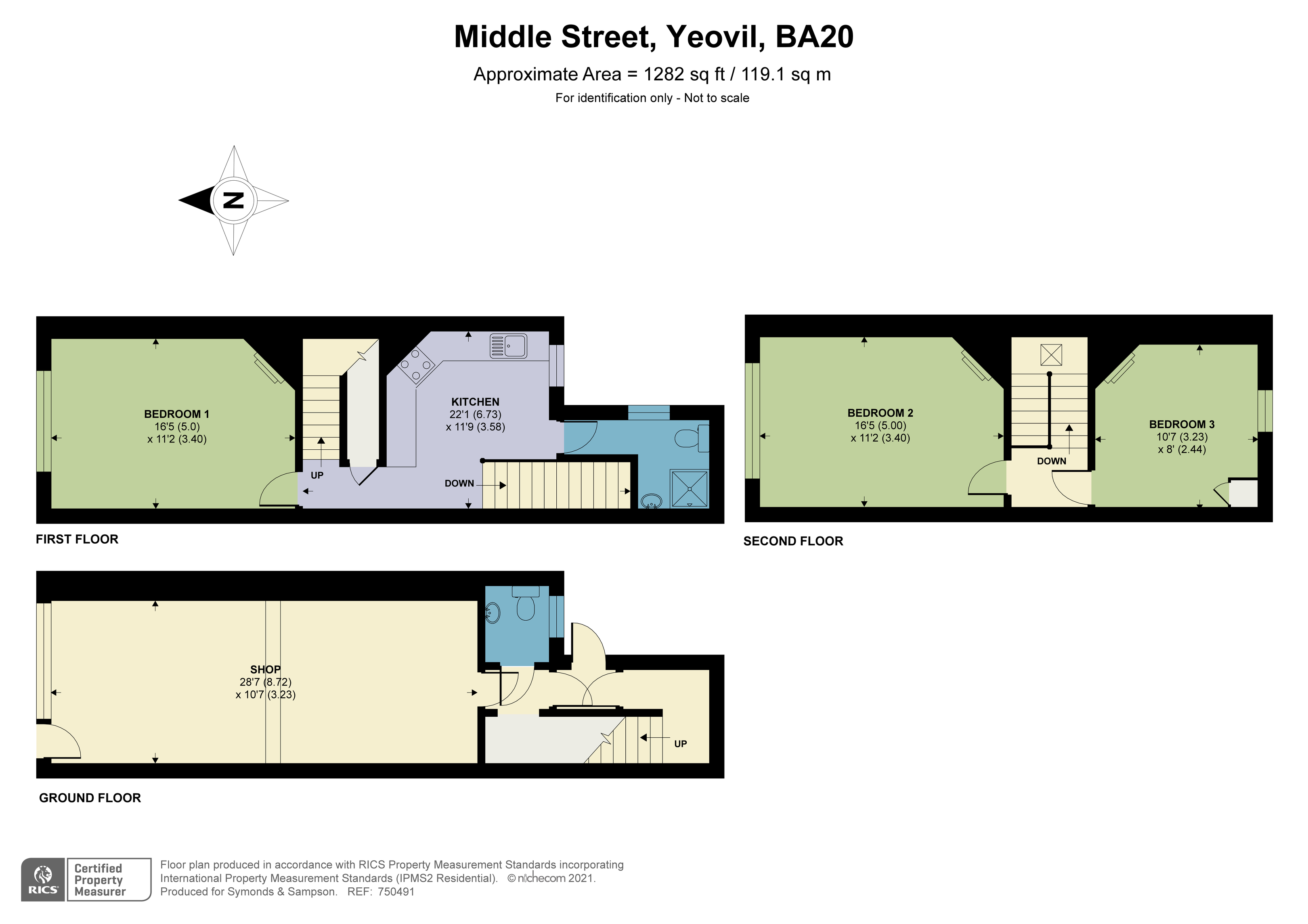 Floorplan - Middle Street, Yeovil, BA20 1LT